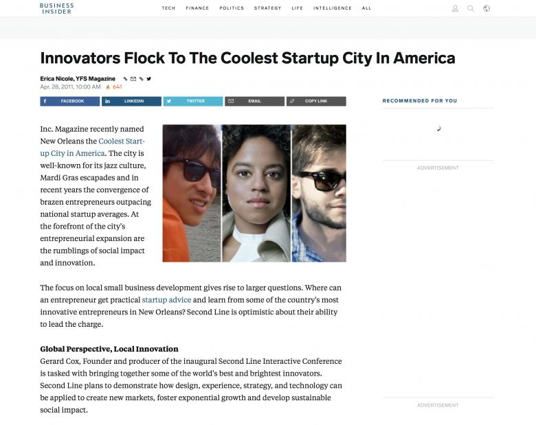 Business Insider Feature